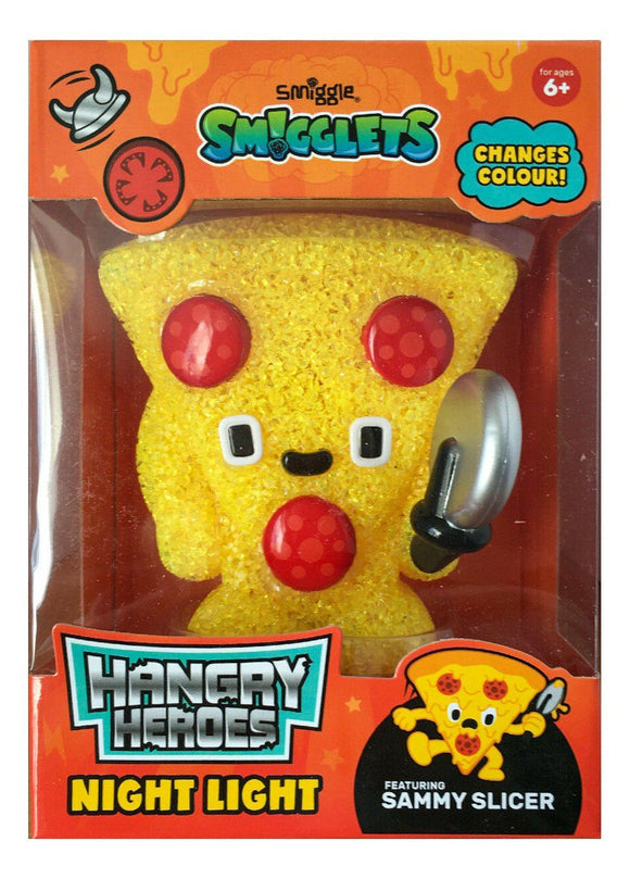 Smiggle Smigglets Pizza Hangry Heroes Night Light Electronics SMIGGLE