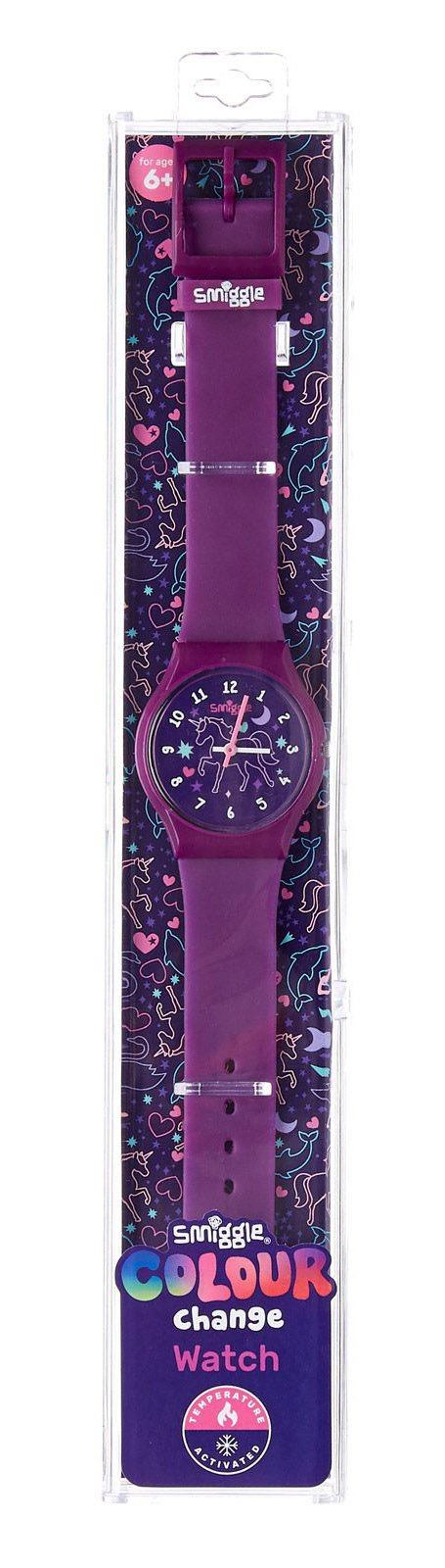Smiggle Watch Colour Change - Purple Electronics SMIGGLE
