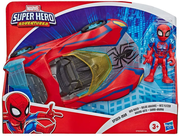 Super Hero Adventures Playskool Heroes Marvel Spider-Man Web Racer - TOYBOX Toy Shop