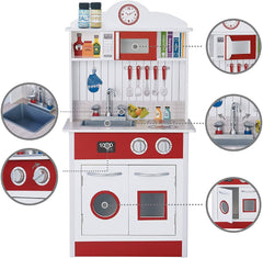 Teamson Toddler Kitchen TD-12385R - TOYBOX Cyprus