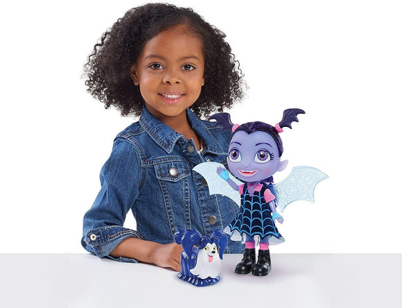 Vampirina 78040 Bat-tastic Vampirina and Wolfie Talking Figure Set Dolls Vampirina
