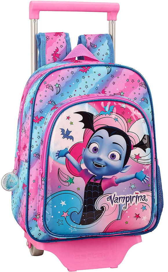 Vampririna Official Children's Backpack with Safta 705 Trolley School Vampirina