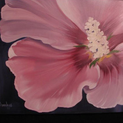 Garden Flower Oil Painting, Fine Art