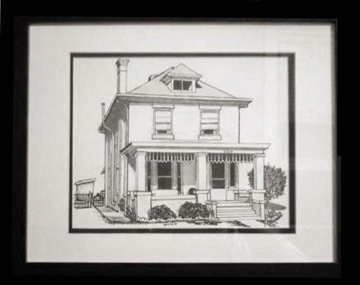 Custom House Drawing, Fine Art