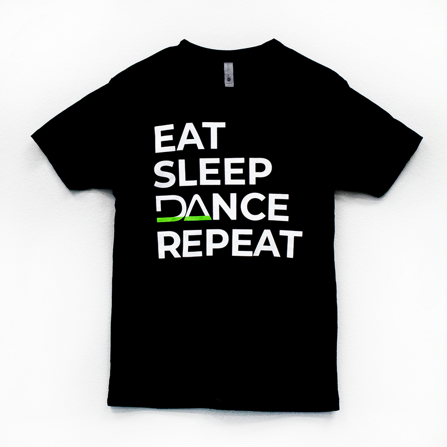 Eat Sleep DAnce Repeat Short-Sleeve Shirt