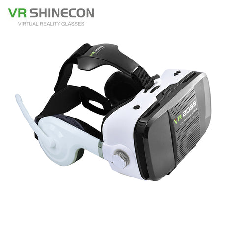2018 VR SHINECON  Frame Light-Weight Portable 3D VR Box Phone Virtual Reality GlassesVr   Headset Helmet