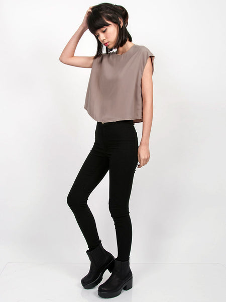 JORDAN Loose Fit Top (Neutral)