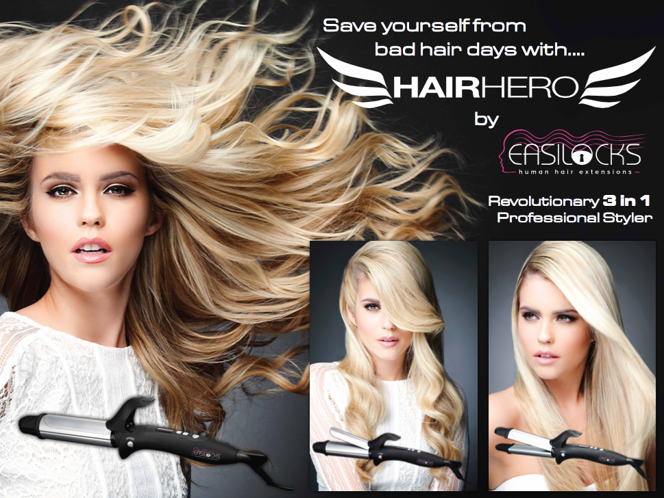 3 In 1 Styler Hair Hero Easilocks Shop
