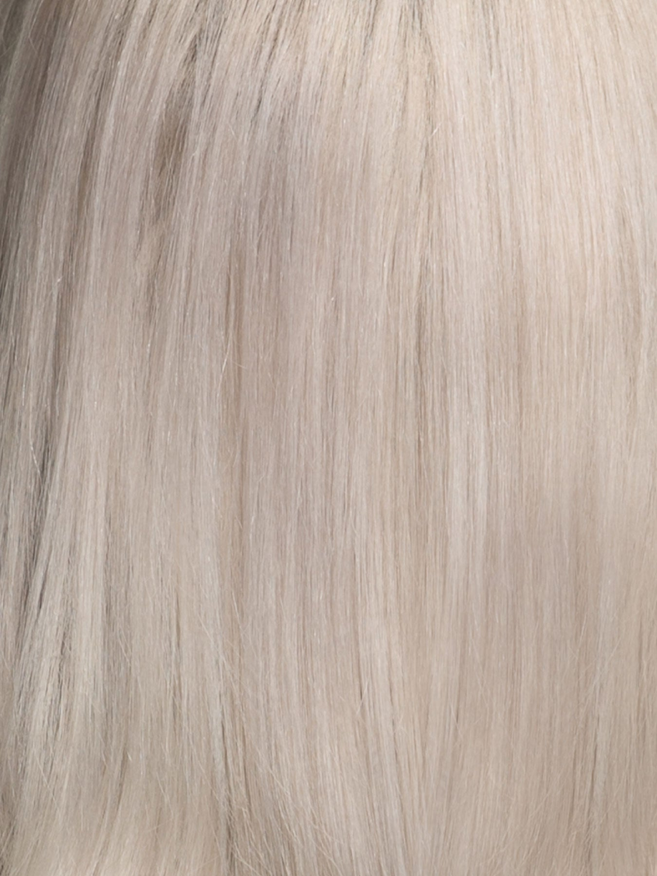 "12 Piece Clip In HD Fibre Hair Extensions - 16"" / 22"" - Platinum (1572147658832)"