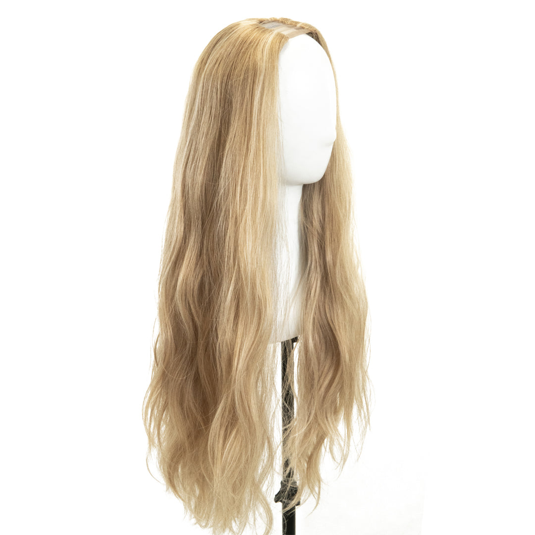 "Jordyn X Easilocks HD Fibre 24"" Lace U Part - Ash Blonde (4118745907280)"