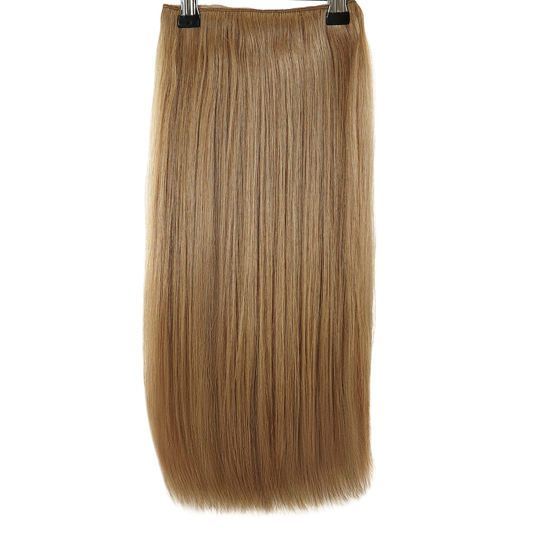 Multi Weft Clip In Human Hair Extensions - Biscuit (3051220549)