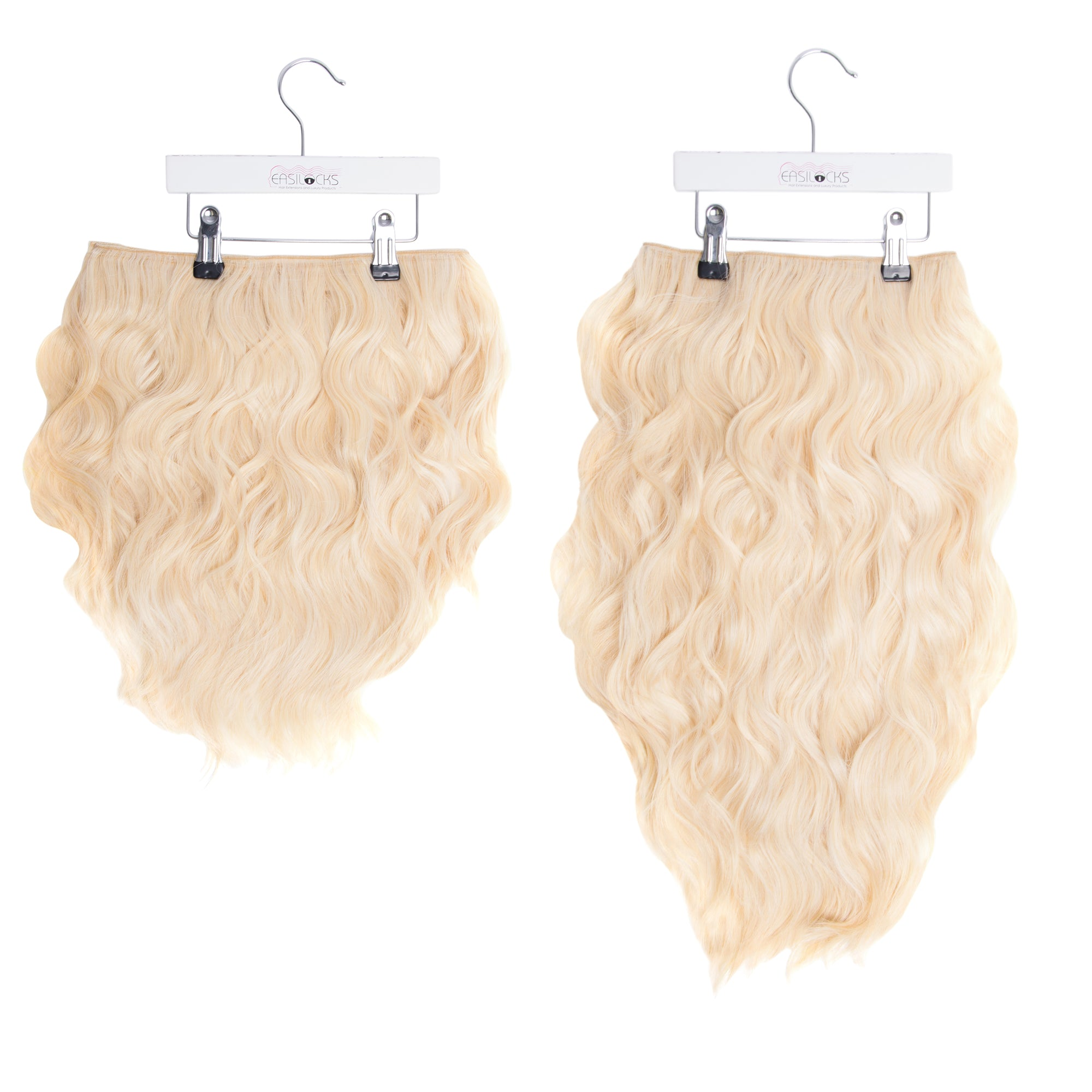 "Miracle Makeover HD Fibre Clip In Hair Extensions - 14"" & 22"" - Blonde Bombshell (1319147110480)"