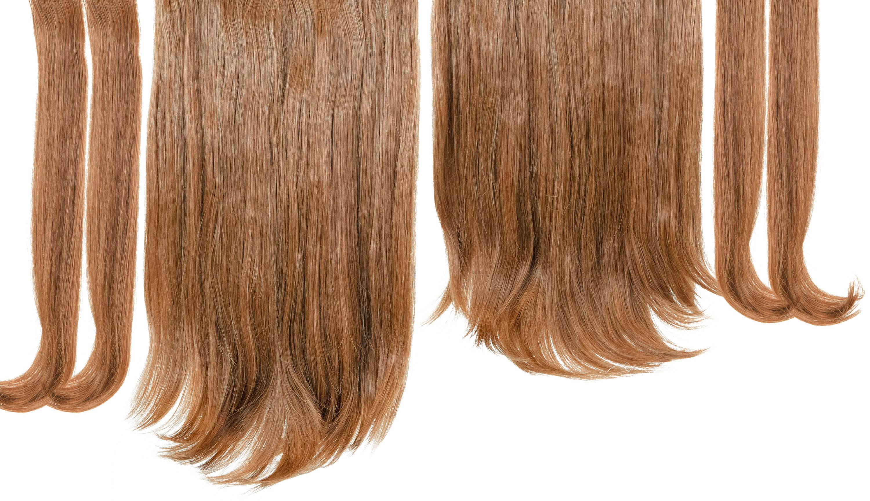 "12 Piece Clip In HD Fibre Hair Extensions - 16"" / 22"" - Butterscotch (1572139073616)"