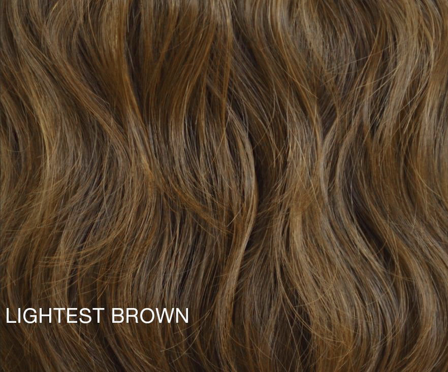 "Charlotte's Miracle Makeover HD Fibre Hair Extensions - 14"" / 22"" - Lightest Brown (1319143538768)"