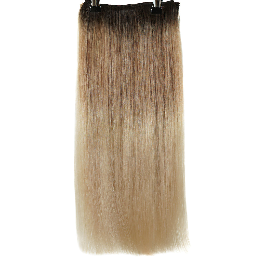 Multi Weft Clip In Human Hair Extensions - Chocolate Melt (1330436309072)
