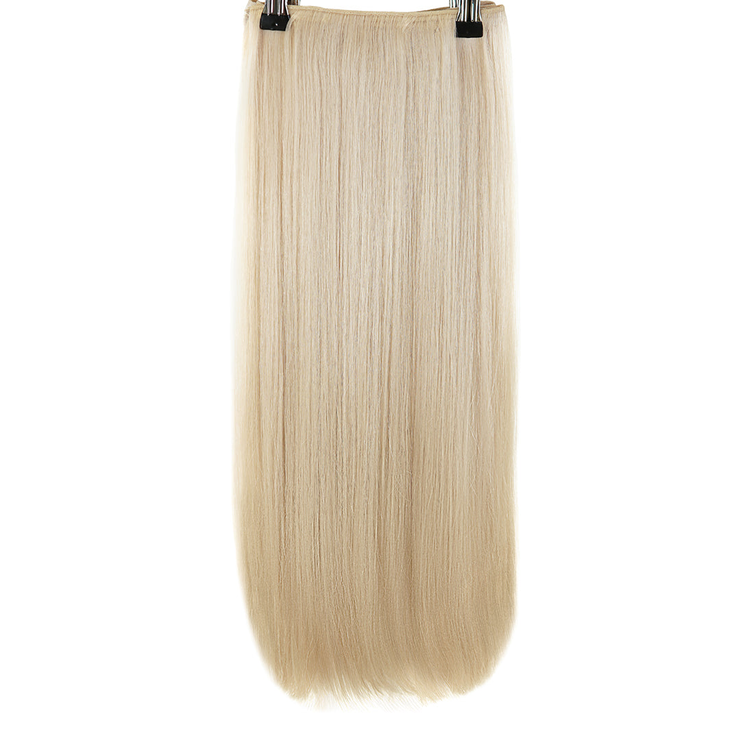 Multi Weft Clip In Human Hair Extensions - Cream (112319692809)