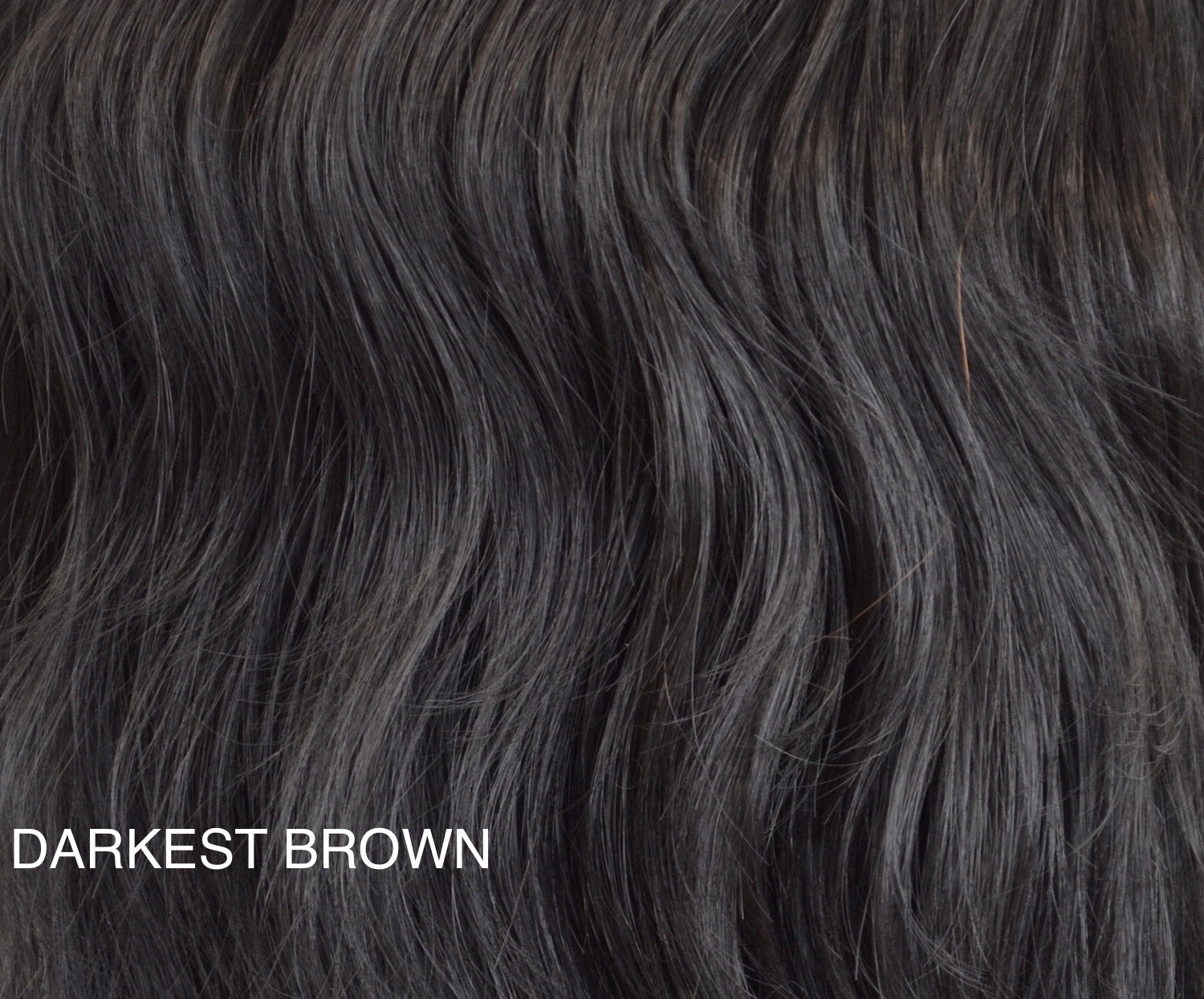"Charlotte's Miracle Makeover HD Fibre Hair Extensions - 14"" / 22"" - Darkest Brown (1319143276624)"