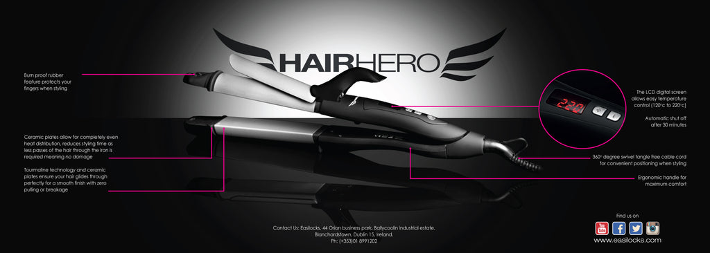 3 in 1 Styler HAIR HERO