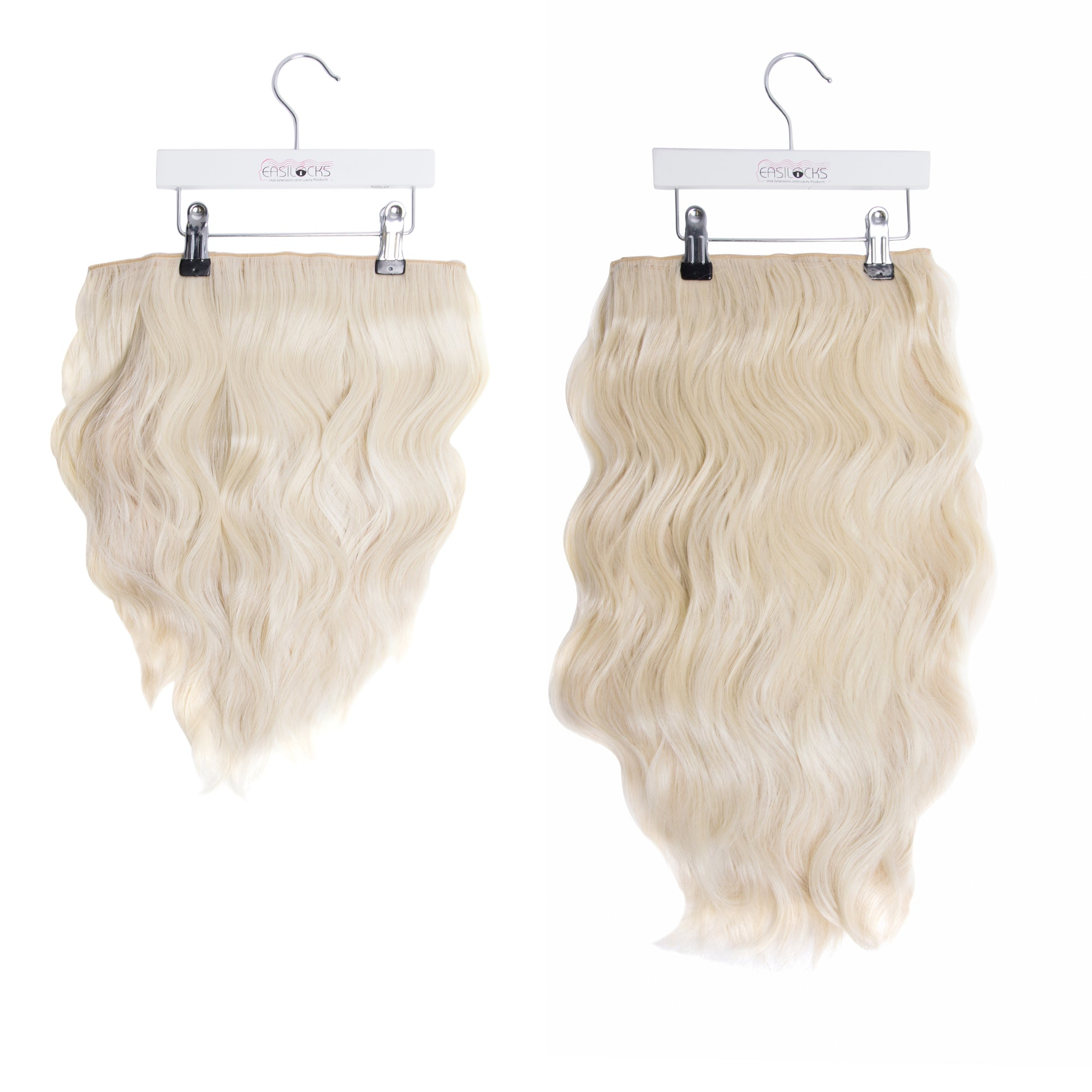 "Miracle Makeover HD Fibre Clip In Hair Extensions - 14"" & 22"" - Ice Blonde (1319149535312)"