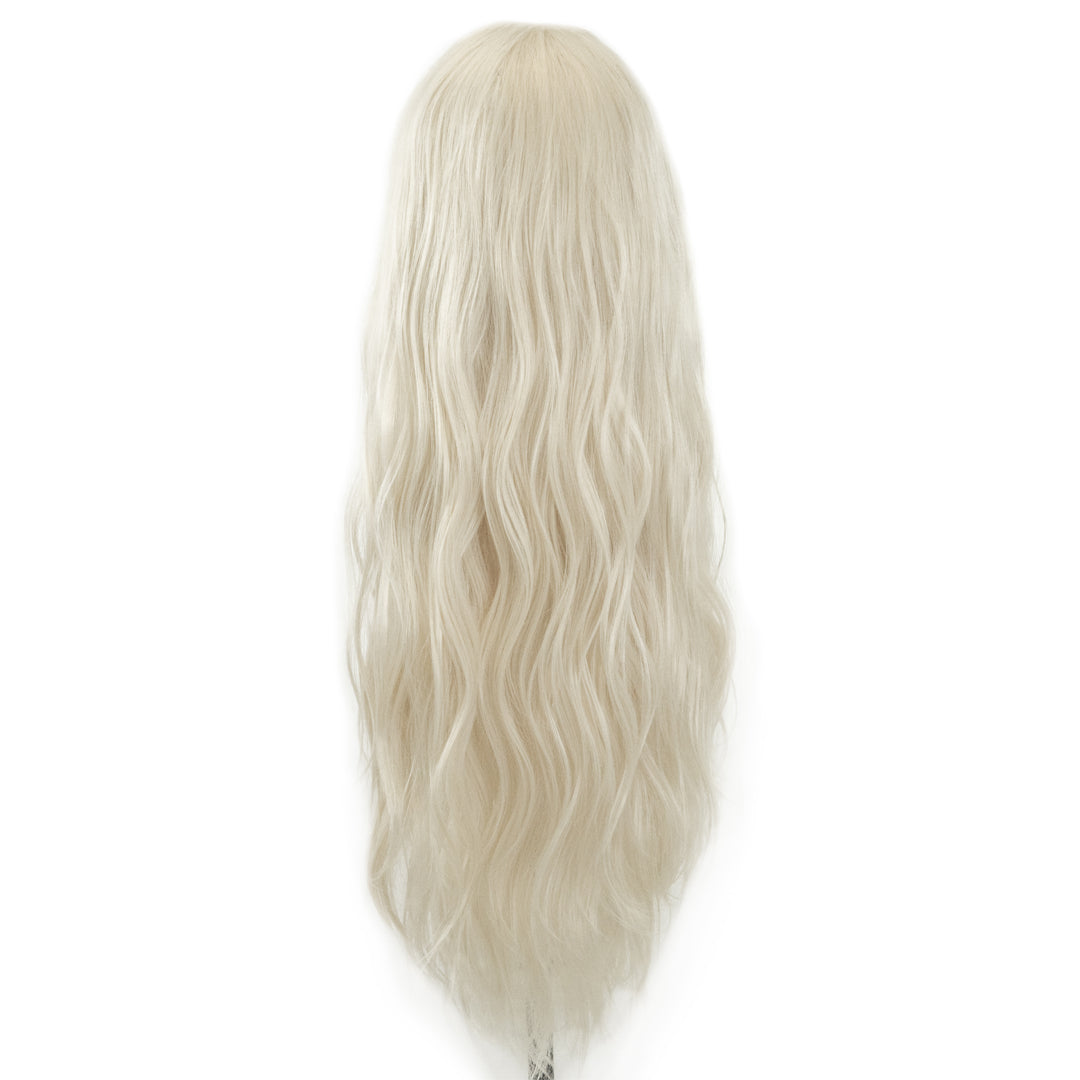 "Jordyn X Easilocks HD Fibre 24"" Lace U Part - Ice Blonde (PRE ORDER) (4118717268048)"