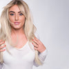 6 in 1 Clip In Hair Extensions - Ice Blonde