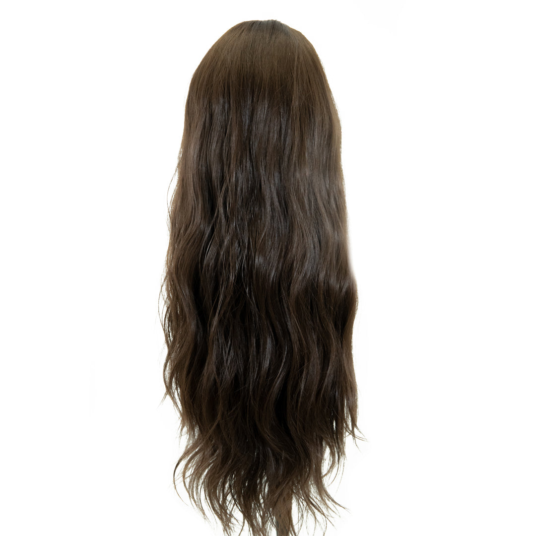 "Jordyn X Easilocks HD Fibre 24"" Lace U Part - Mocha Brown (4118749380688)"