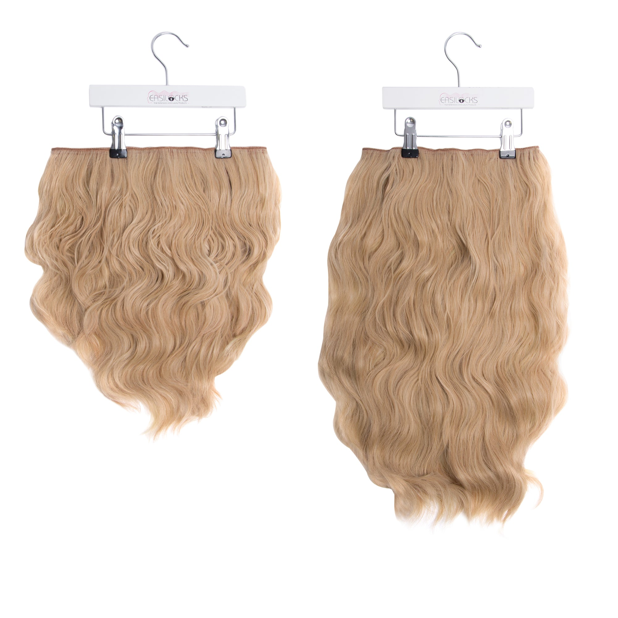 "Miracle Makeover HD Fibre Clip In Hair Extensions - 14"" & 22"" - Pure Blonde (1319149437008)"