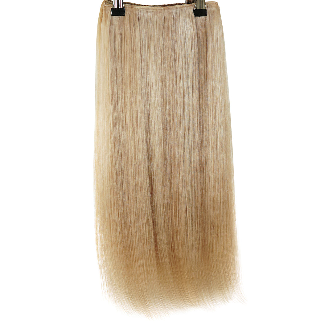 "Clip In 20"" Weft Human Hair Extensions - Sand & Vanilla (448285688)"