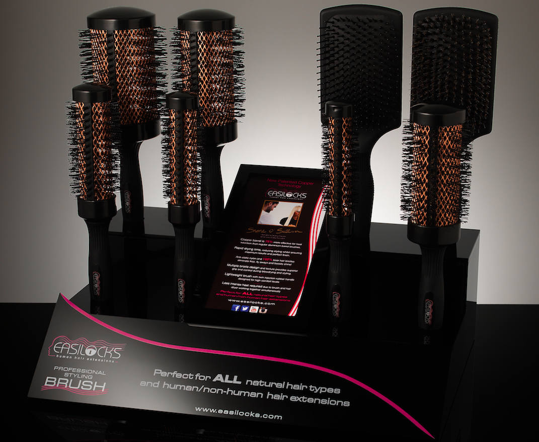 Easilocks Copper Barrel Brush 43mm