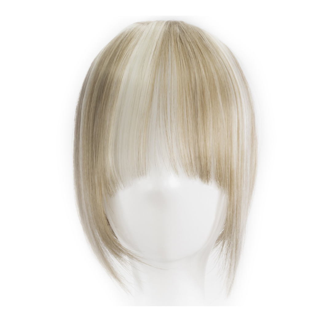 Jordyn X Easilocks Clip-In Fringe - Ash Blonde (4103448723536)