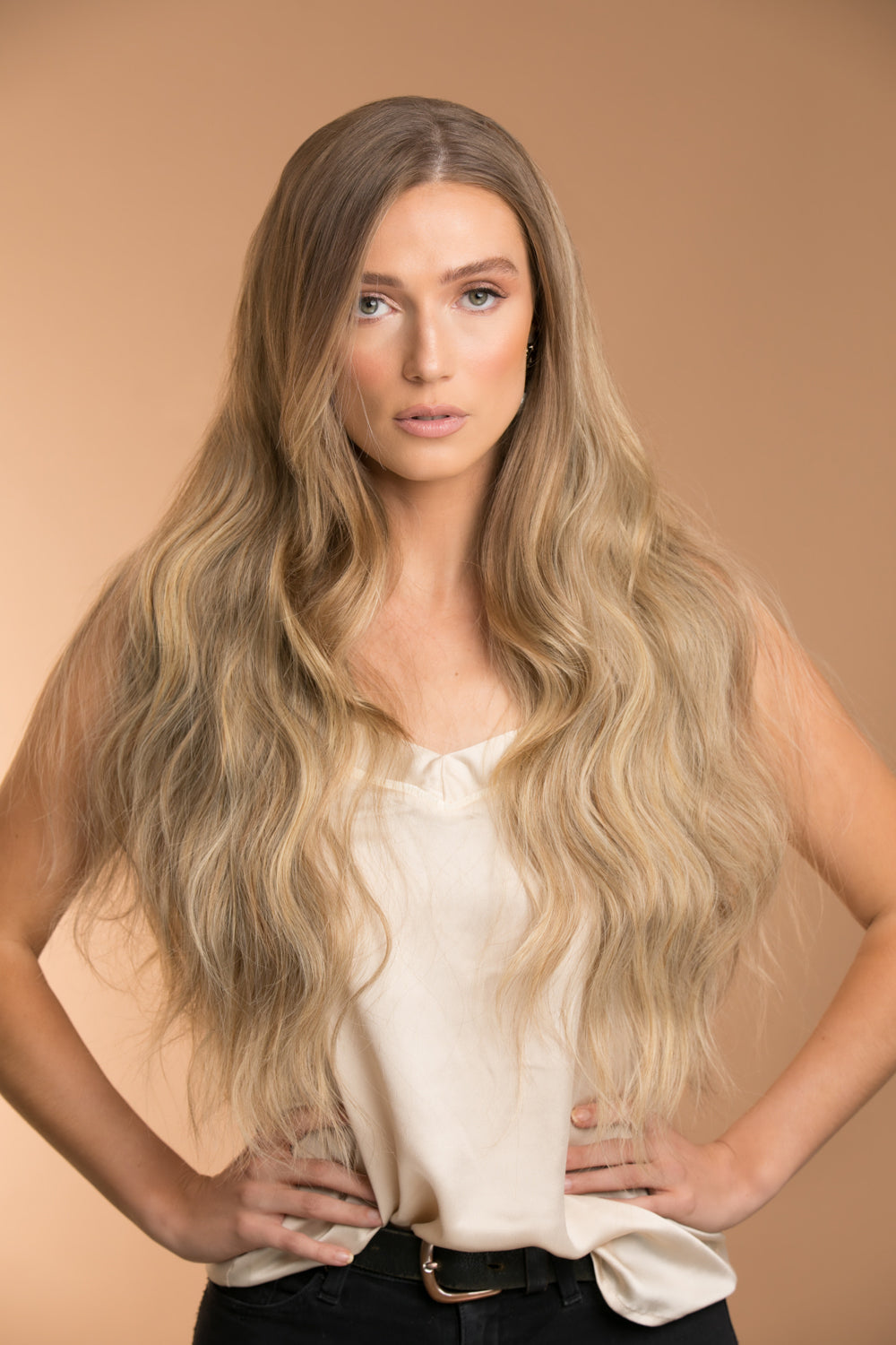 The Lace U part Biscuit Balayage