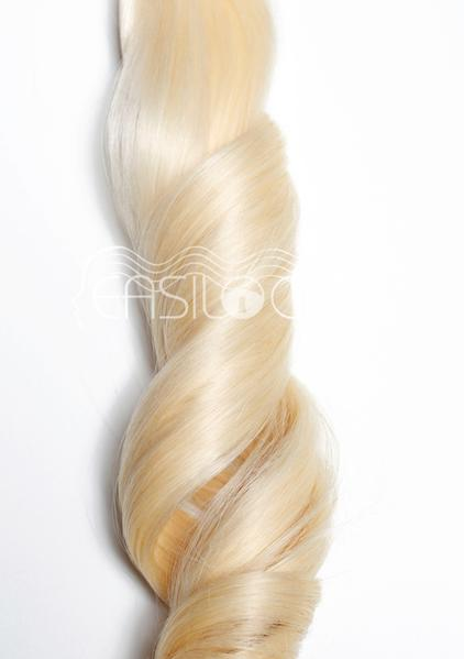 Multi Weft Clip In Human Hair Extensions - Blonde Bombshell (448283400)