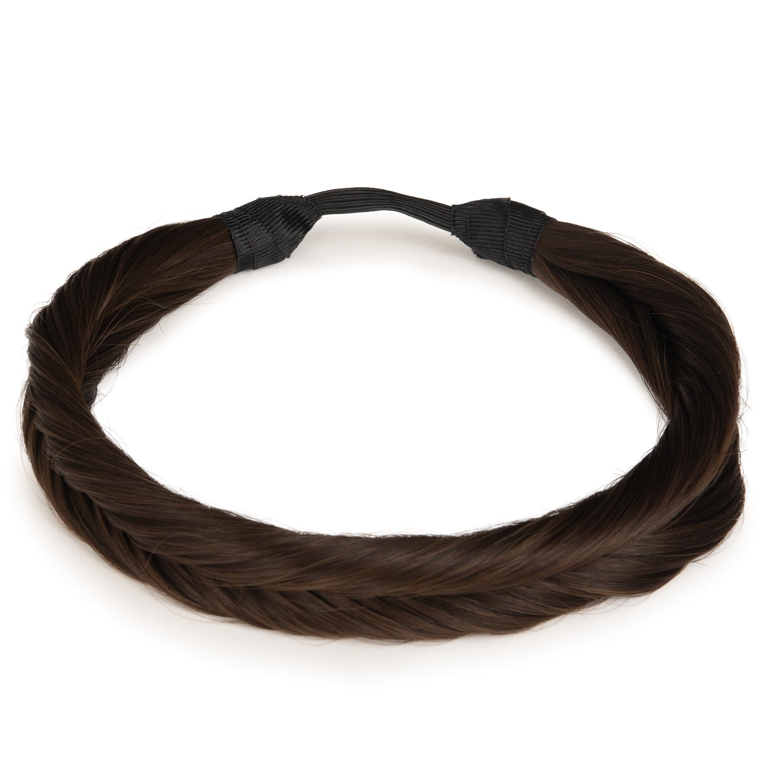 The Braided Headband - Medium Brown (180663365)