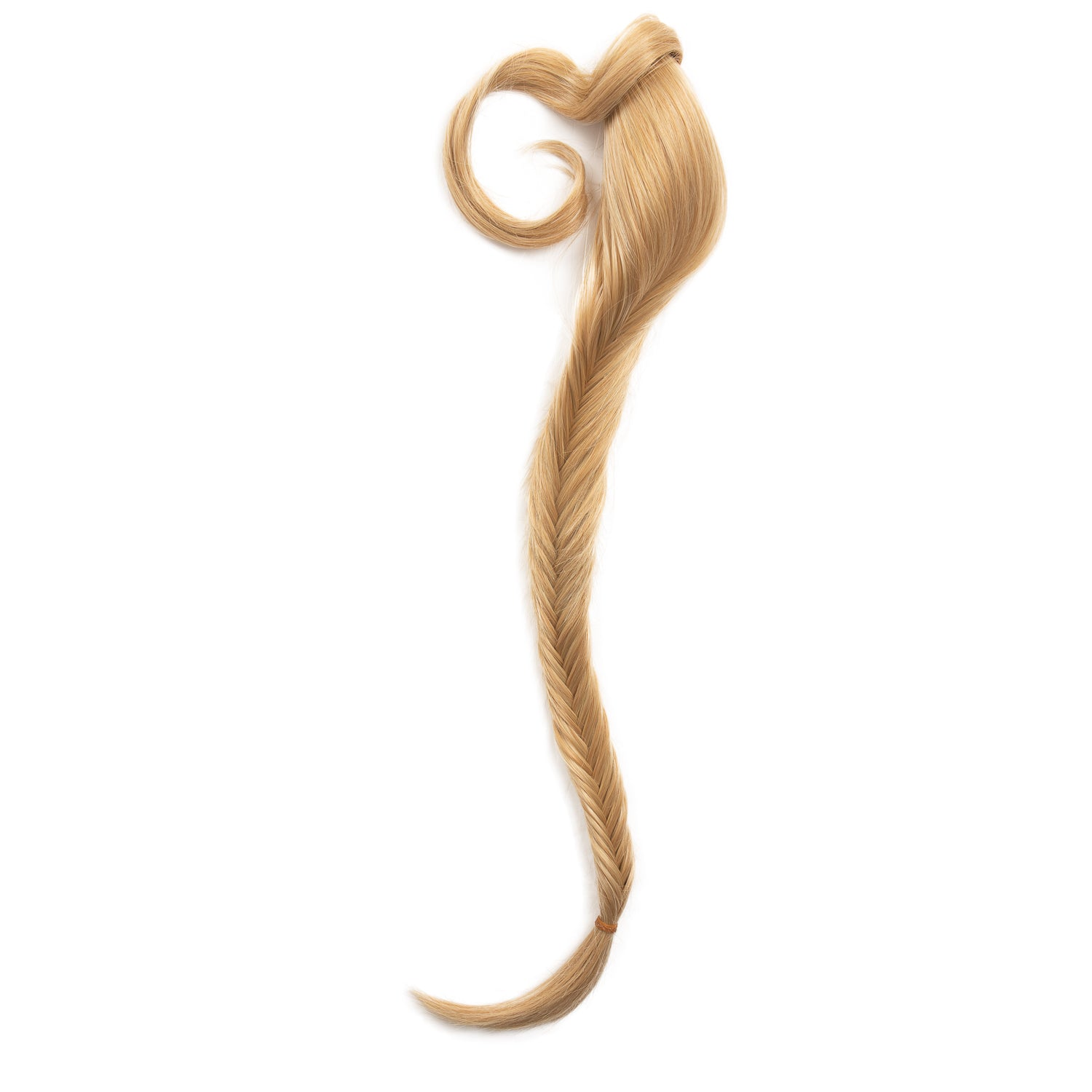 "Clip In 24"" Fishtail Braid Hair Extension - Pure Blonde (379465728)"