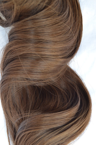 THE CATWALK Fishtail Braid -  Lightest Brown