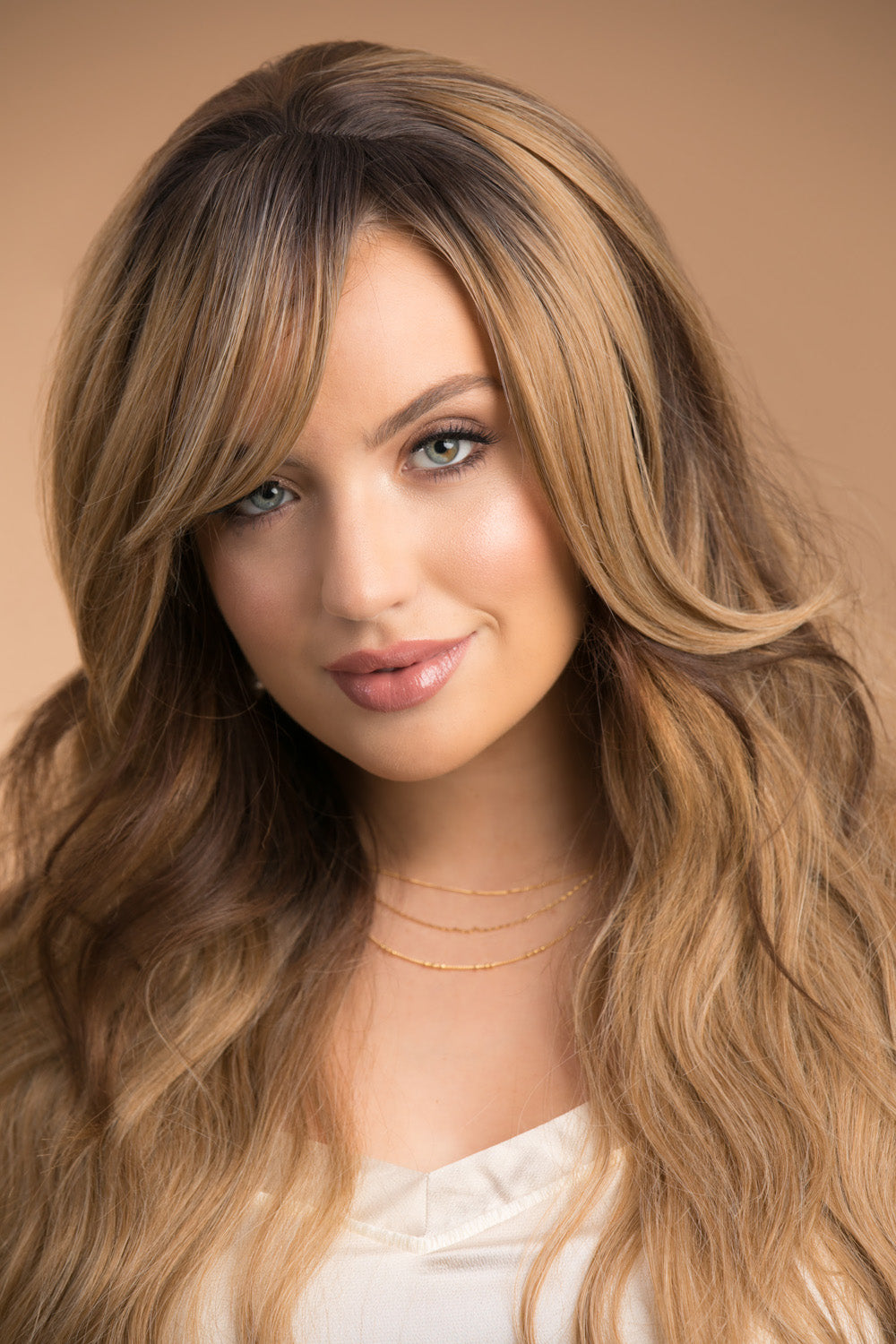 The Fringe Medium Brown Ombre