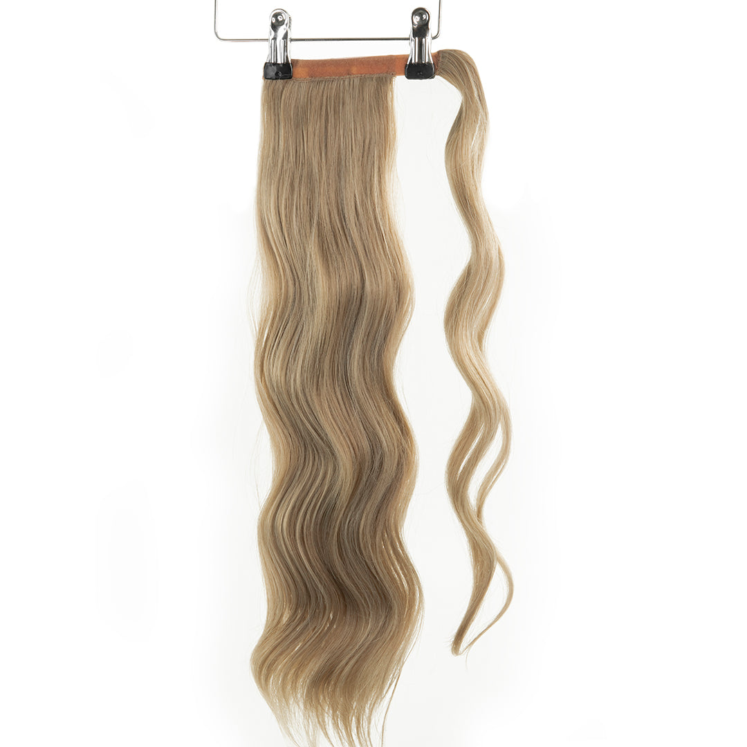 "Jordyn X Easilocks 22"" Clip-In Ponytail - Pearl Oak (4168106639440)"