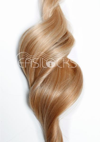 Multi Weft Clip In Human Hair Extensions - Sand & Vanilla (448285688)