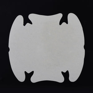 PVC 9 x 8CM Transparent 4Pcs/lot Car Handle Protection Film Car Exterior Transparent Sticker Automotive