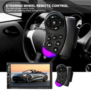 7060B 7 Inch 2 DIN TFT Screen Bluetooth Car Audio Stereo MP4 Player 12V Auto Autoradio Support AUX FM USB SD MMC
