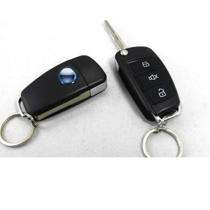 CA703-8118 One Way Remote Control Siren Sensor Auto Car Alarm Systems & Central Door Locking Security Key for Toyota