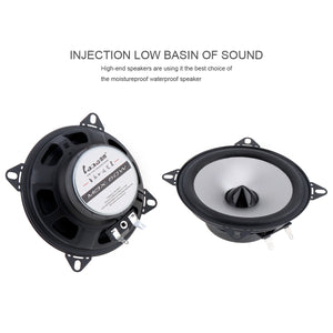 2pcs 4 Inch 60W 2 Way Car Coaxial Hifi Speaker Vehicle Door Auto Audio Music Stereo Full Range Frequency Hifi  Loud Speakers