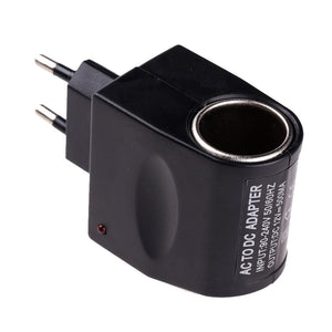 High Quality Useful Car Cigarette Lighter Power AC 220V To DC 12V Black Adapter Converter Mini Automobile Accessories