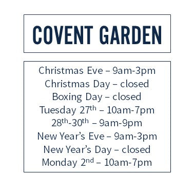 Covent Garden Hours