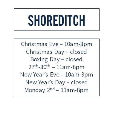 Ruffians Shoreditch Hours
