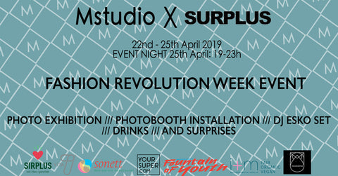 M Studio x Surplus Project Berlin event