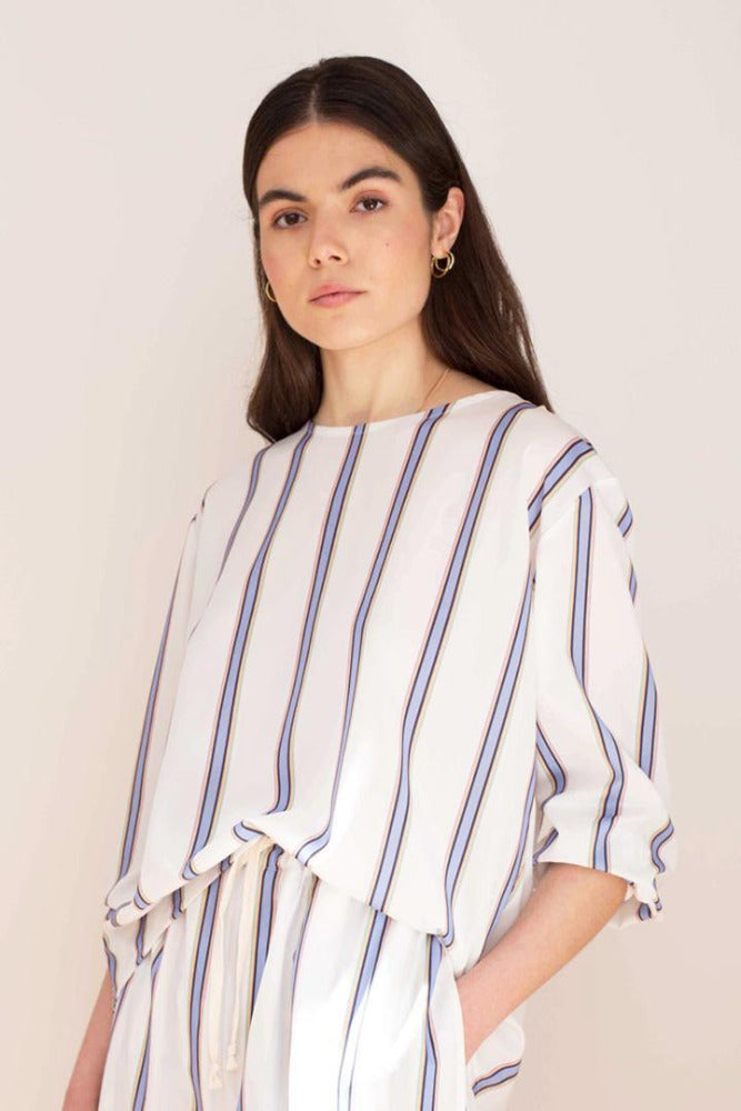 STRIPED BLOUSE - JUANMA by EL CUCO