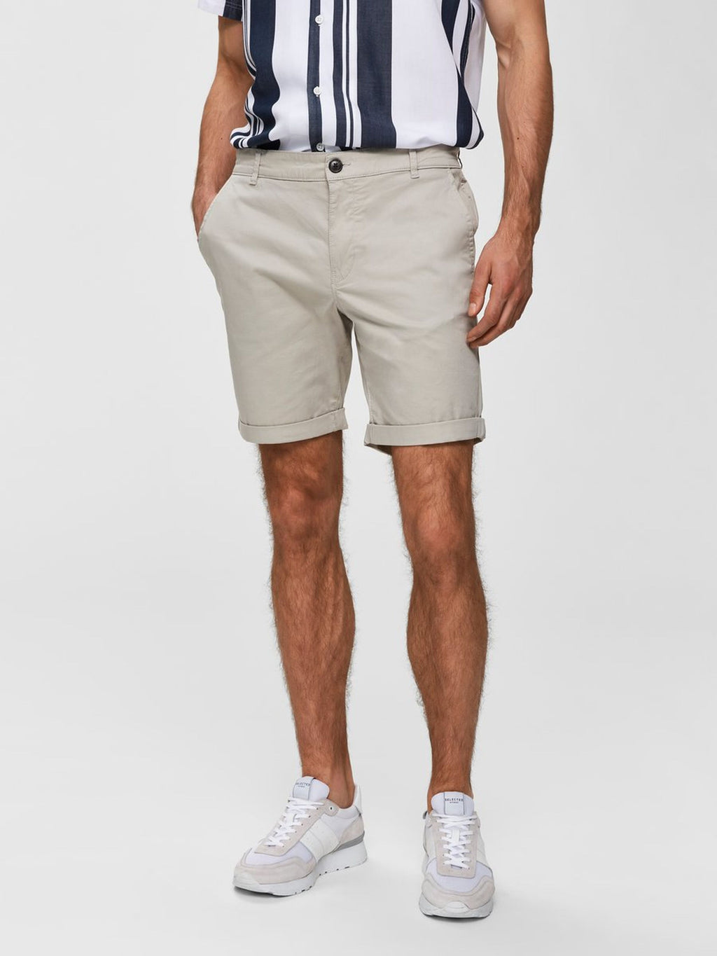 Selectedhomme straight-paris shorts moonstruck