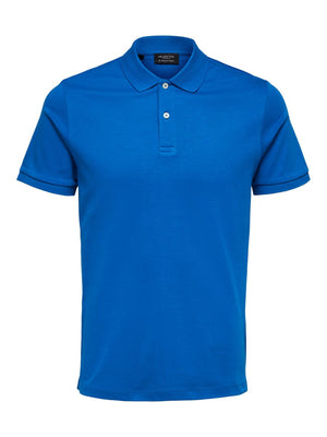 Selectedhomme paris polo baleine blue