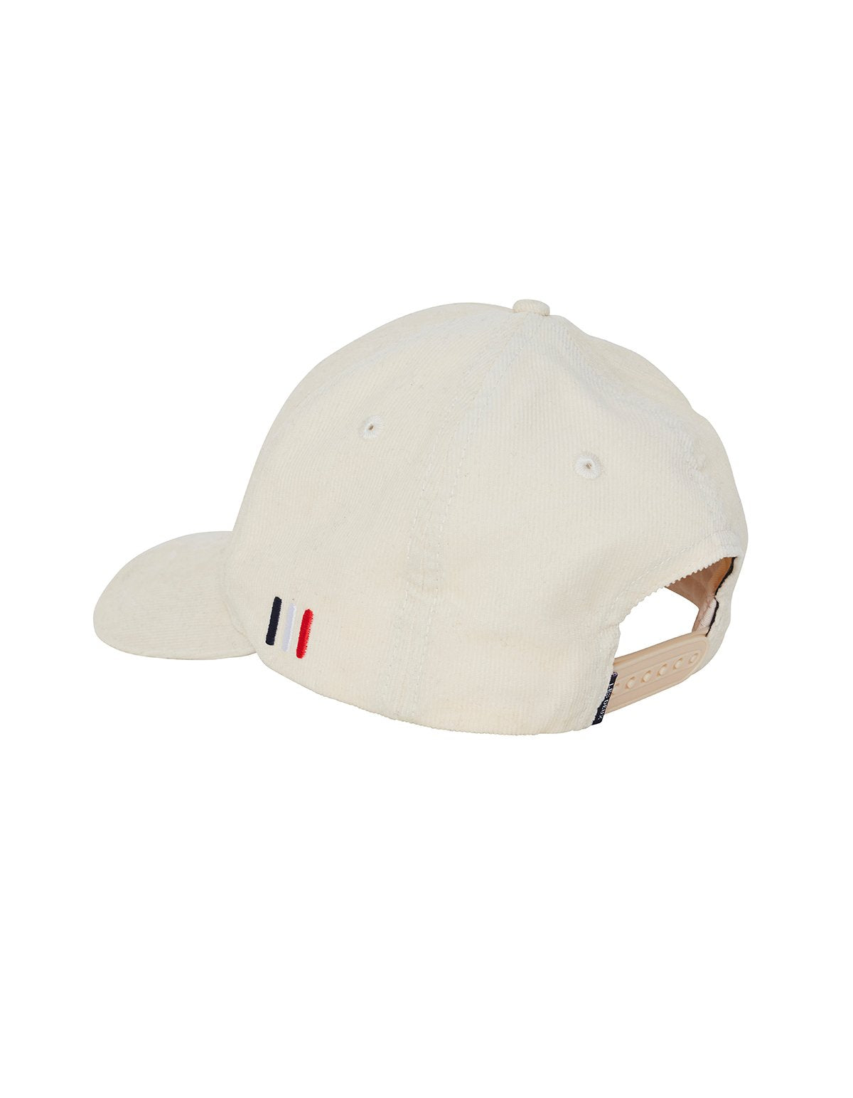 Les deux piece fine baseball cap off white black
